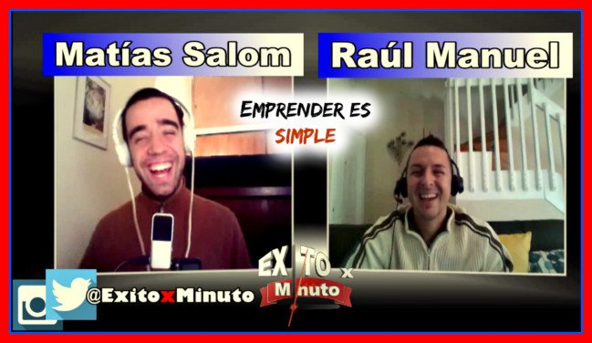 Emprender es simple -Entrevista a Matías Salom de SuperHabitos