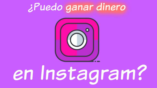 Aprende Esto y Podrás Ganar Dinero con Instagram