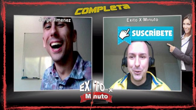 Entrevistas Jorge Jimenez Exito por Minuto Completa Final