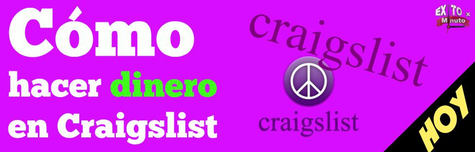Cómo hacer dinero en Craigslist