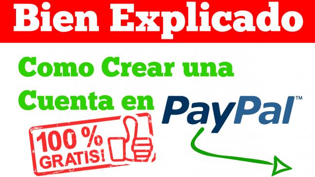 Crear Cuenta en PayPal Sin Tarjeta de Credito Paso a Paso