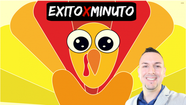 Feliz Día de acción de gracias de Raúl Manuel - Éxito X Minuto