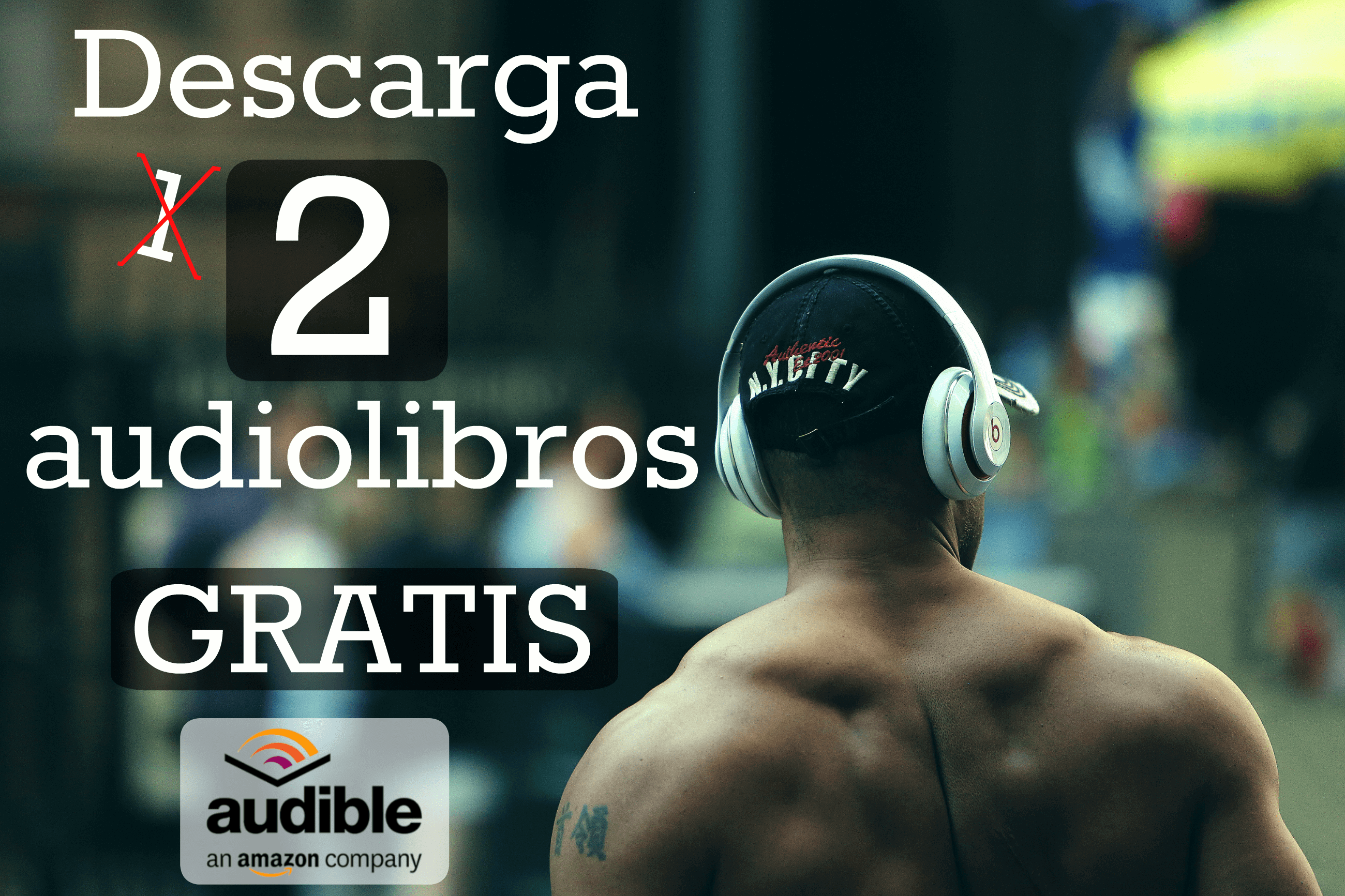 Como Escuchar Audiolibros GRATIS Completos con Audible-min