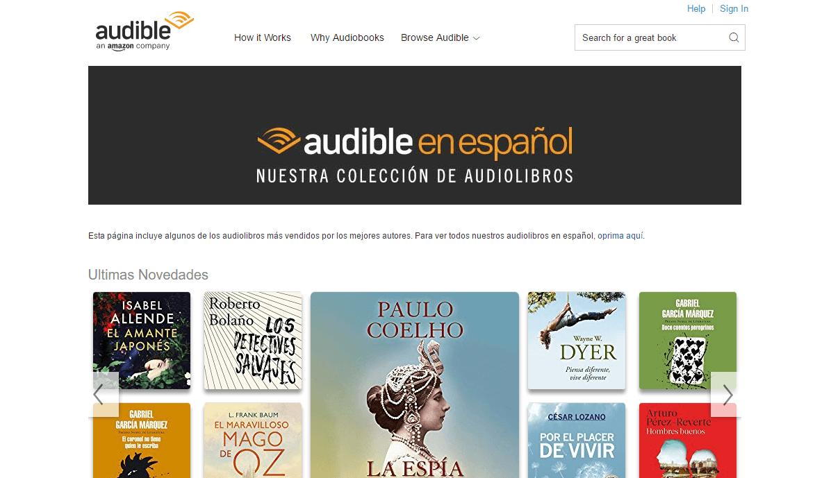 Como conseguir audiolibros gratis