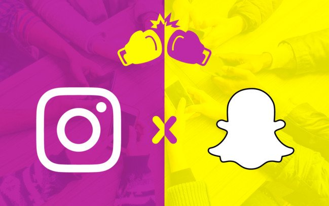 Por Que Instagram Gano Y Snapchat No