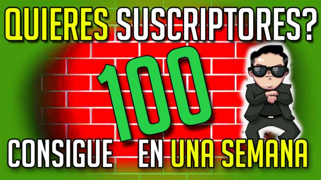 Cómo Conseguir Tus Primeros 100 Suscriptores en YouTube (EN UNA SEMANA)